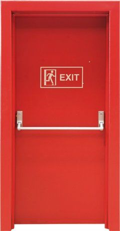 Fire exit doors repair